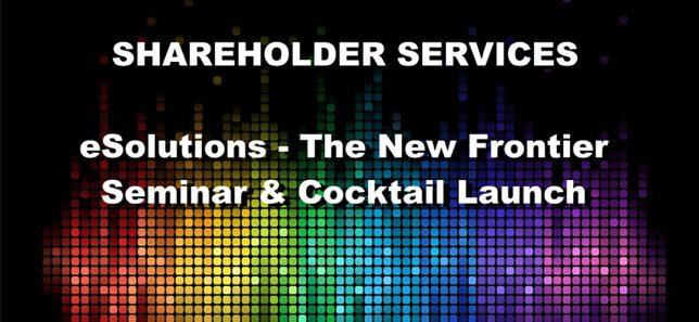 eSolutions – The New Frontier, Seminar & Cocktail
