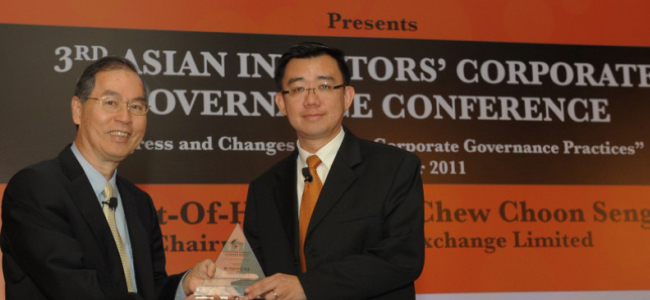3rd Asian Investors' Corporate Governance Conference