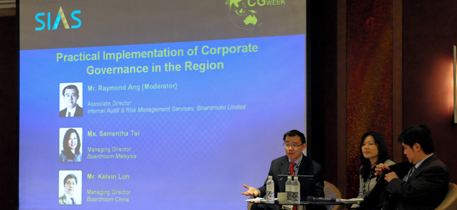 3rd Corporate Governance Week 2012
